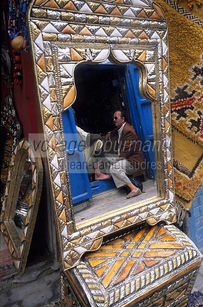Afrique/Maghreb/Maroc/Essaouira : Dans le souk