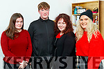 Pictured at Lisa Curran's Voiceworks showcase in Collis Sandes, Tralee,on Saturday last were l-r: Pamela O'Connor, Eoin Griffin, Molly Brosnan and Annie Hayes.