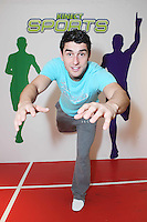 "NO REPRO FEE. Bernard Brogan, GAA All Star and 2010 Footballer of the Year, popped into the Kinect  Experiential Centre on Grafton Street to get a sneak preview of Kinect ahead of launch on November 10thand take on the public in a series of sprints as part of a ""Kinect Sports"" challenge.Kinect for Xbox 360 makes it possible to play in a whole new way by identifying your movement and body position to create a truly immersive entertainment experience. See a ball? Just kick it. Browse through a menu with the wave of a hand Picture James Horan/Collins Photos"