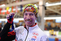 SPEEDSKATING: BERLIN: Sportforum Berlin, 28-01-2017, ISU World Cup, 5000m Men A Division, winner Ted-Jan Bloemen (CAN), ©photo Martin de Jong