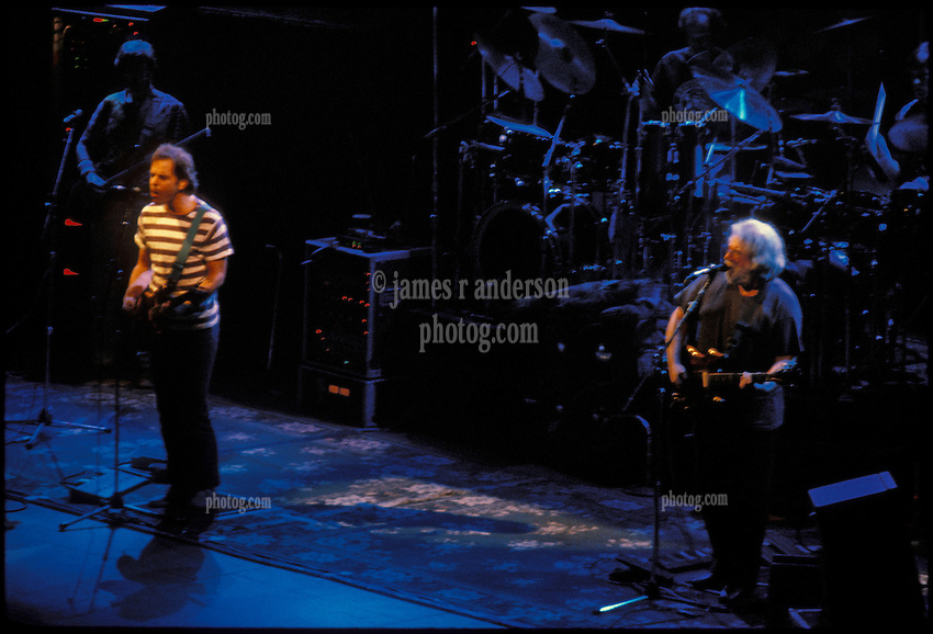 The Grateful Dead in Concert at the Hartford Civic Center on March 26th 1987
