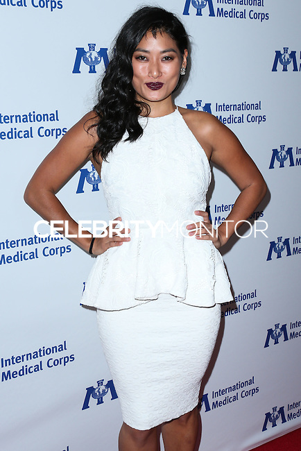 BEVERLY HILLS, CA, USA - OCTOBER 23: Chloe Flower arrives at the 2014 International Medical Corps' Annual Awards Dinner Ceremony held at the Beverly Wilshire Four Seasons Hotel on October 23, 2014 in Beverly Hills, California, United States. (Photo by Xavier Collin/Celebrity Monitor)