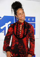 NEW YORK, NY - AUGUST 28  Alicia Keys attend the 2016 MTV Video Music Awards at Madison Square Garden on August 28, 2016 in New York City Credit John Palmer / MediaPunch