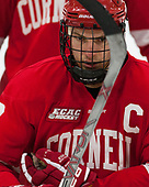 Jake Weidner (Cornell - 7) - The Harvard University Crimson defeated the visiting Cornell University Big Red on Saturday, November 5, 2016, at the Bright-Landry Hockey Center in Boston, Massachusetts.