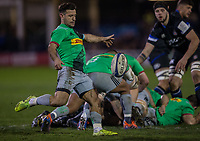 Harlequins' Danny Care in action during todays match<br /> <br /> Photographer Bob Bradford/CameraSport<br /> <br /> European Rugby Heineken Champions Cup Group C - Bath Rugby v Harlequins - Friday 10th January 2020 - The Recreation Ground - Bath<br /> <br /> World Copyright © 2019 CameraSport. All rights reserved. 43 Linden Ave. Countesthorpe. Leicester. England. LE8 5PG - Tel: +44 (0) 116 277 4147 - admin@camerasport.com - www.camerasport.com