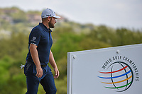 Tyrrell Hatton (ENG) approaches the tee on 3 during day 2 of the WGC Dell Match Play, at the Austin Country Club, Austin, Texas, USA. 3/28/2019.<br /> Picture: Golffile | Ken Murray<br /> <br /> <br /> All photo usage must carry mandatory copyright credit (© Golffile | Ken Murray)