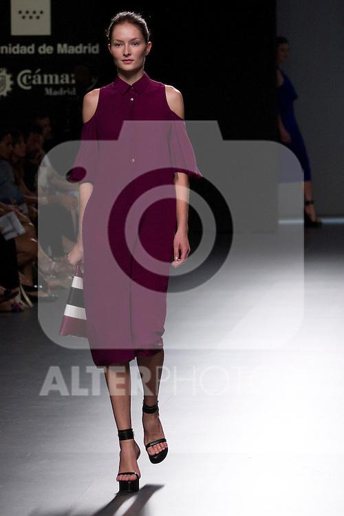 31.08.2012. Models walk the runway in the Angel Schlesser fashion show during the Mercedes-Benz Fashion Week Madrid Spring/Summer 2013 at Ifema. (Alterphotos/Marta Gonzalez)