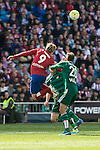 Atletico de Madrid's Fernando Torres and Real Betis's Pezzella during BBVA La Liga match. April 02,2016. (ALTERPHOTOS/Borja B.Hojas)