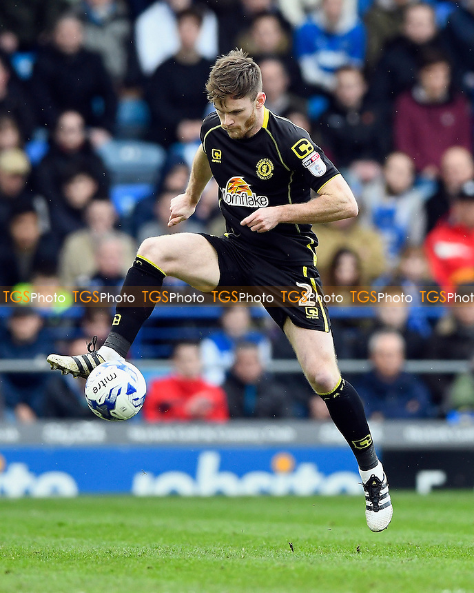 Oliver Turton of Crewe Alexandra during Portsmouth vs Crewe Alexandra, Sky Bet EFL League 2 Football at Fratton Park on 4th March 2017