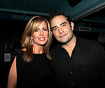 As The World Turns Martha Bryne with-Jeremy Bennett - son of Elizabeth Hubbard - Weight: The Series held its premiere party on October 8, 2014 at Galway Pub, New York City, New York. (Photo by Sue Coflin/Max Photos)