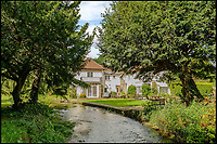 BNPS.co.uk (01202 558833)Pic: Savills/BNPS<br /> A river runs through it...<br /> <br /> Nature lovers will want to get their hands on this striking home with a picturesque chalk stream running through its grounds - on the market for &pound;3.5million.<br /> <br /> The Mill House in the village of Tewin, Herts, sits on the bank of the River Mimram which attracts an abundance of wildlife.<br /> <br /> The new owners can watch the birds, fish, foxes and deer from the comfort of the house and ten acres of gardens.<br /> <br /> The site, which dates back to the Domesday Book, has had several mills on the plot over the years and still has some original features from the mill.