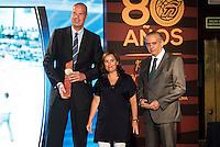 Fernan Martinez Garriga during the 80th Aniversary of the National Basketball Team at Melia Castilla Hotel, Spain, September 01, 2015. <br /> (ALTERPHOTOS/BorjaB.Hojas) / NortePhoto.Com