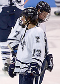 Joe Zappala, Shawn Mole - Colgate University defeated Yale University 6-2 at Ingalls Rink in New Haven, CT on November 5, 2005.