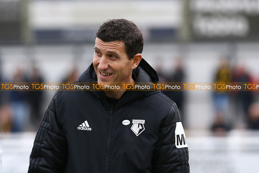 Watford manager Javi Gracia during Woking vs Watford, Emirates FA Cup Football at The Laithwaite Community Stadium on 6th January 2019