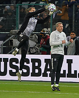 Torwart Manuel Neuer (Deutschland Germany) mit Torwarttrainer Andreas Koepke (Deutschland Germany) - 16.11.2019: Deutschland vs. Weißrussland, Borussia Park Mönchengladbach, EM-Qualifikation DISCLAIMER: DFB regulations prohibit any use of photographs as image sequences and/or quasi-video.