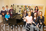 CELEBRATING: Students from the Kerry School of Music in Tralee were celebrating their musical success after receiving their leaving certificate results on Wednesday last. Pictured were: Patrick Travers, Niall Clifford, Conor Byrne, Nicholas Fitzgerald, Katriona Lyons, Ann Marie McMahon, Therese Lyons, Margaret Cronin, Katie McEvoy and Aine Murray.