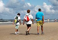 Deelnemers aan de Strand Zesdaagse