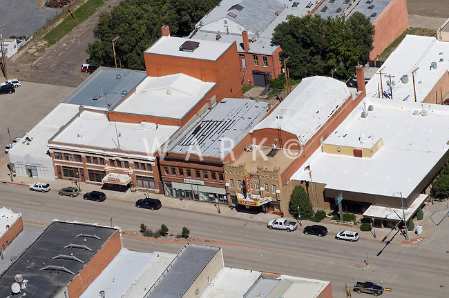 aerial of Raton, NM