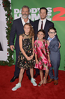 WESTWOOD, CA - NOVEMBER 5: Mel Gibson, Mark Wahlberg, Owen Vaccaro, Scarlett Estevez, Didi Costine at the premiere of Daddy's Home 2 at the Regency Village Theater in Westwood, California on November 5, 2017. <br /> CAP/MPI/DE<br /> &copy;DE/MPI/Capital Pictures