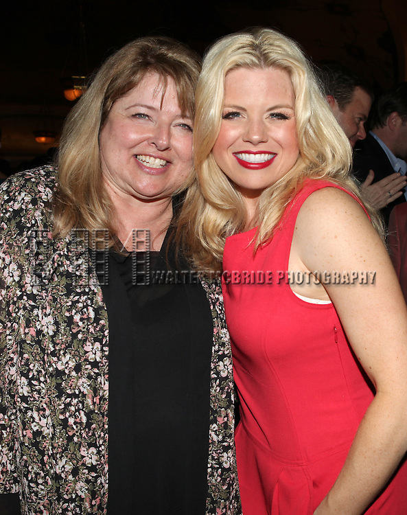 Donna Hilty and her daughter Megan Hilty .attending the reception for the final performance of the New York City Center ENCORES! Production of 'Gentlemen Prefers Blondes' at City Center in New York City on 5/13/2012.