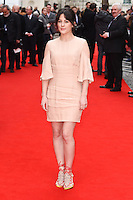 Phoebe Fox<br /> arrives for the &quot;Eye in the Sky&quot; premiere at the Curzon Mayfair Cinema, London<br /> <br /> <br /> &copy;Ash Knotek  D3105 11/04/2016