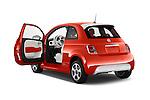 Car images of a 2014 Fiat 500e Hatchback 3 Door Hatchback Doors