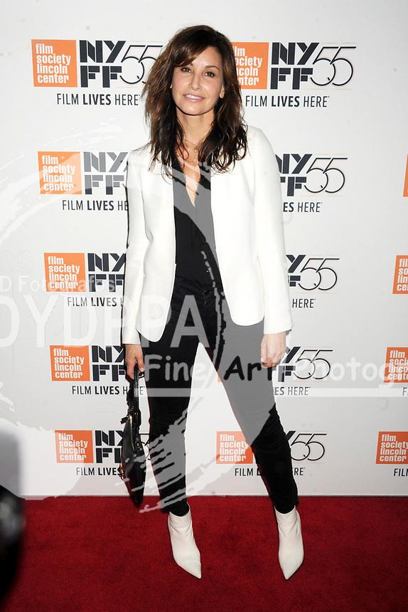 Gina Gershon bei der Premiere von 'Joan Didion: The Center Will Not Hold' auf dem 55. New York Film Festival in der Alice Tully Hall. New York, 11.10.2017