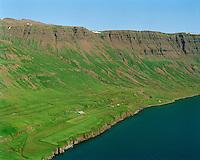 Selsstaðir séð til austurs, Seyðisfjörður áður Seyðisfjarðarhreppur / Selsstadir viewing east, Seydisfjordur former Seydisfjardarhreppur.
