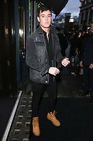 Sam Prince arriving for James Ingham's Jog on to Cancer 2018 at Cafe de Paris, London, UK. <br /> 04 April  2018<br /> Picture: Steve Vas/Featureflash/SilverHub 0208 004 5359 sales@silverhubmedia.com