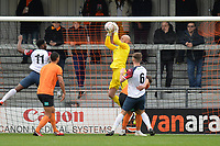Mark Cousins Of Barnet catches a cross during Barnet vs Stockport County, Emirates FA Cup Football at the Hive Stadium on 2nd December 2018