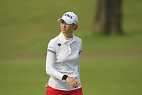 Nelly Korda (USA) in action on the 1st during Round 3 of the HSBC Womens Champions 2018 at Sentosa Golf Club on the Saturday 3rd March 2018.<br /> Picture:  Thos Caffrey / www.golffile.ie<br /> <br /> All photo usage must carry mandatory copyright credit (&copy; Golffile   Thos Caffrey)