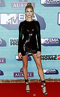 www.acepixs.com<br /> <br /> November 12 2017, London<br /> <br /> Hailey Baldwin arriving at the 2017 MTV Europe Music Awards at the SSE Arena on November 12 2017 in Wembley, London.<br /> <br /> By Line: Famous/ACE Pictures<br /> <br /> <br /> ACE Pictures Inc<br /> Tel: 6467670430<br /> Email: info@acepixs.com<br /> www.acepixs.com