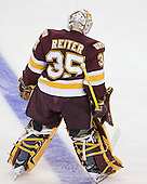 Kenny Reiter (Duluth - 35) - The University of Minnesota-Duluth Bulldogs defeated the Union College Dutchmen 2-0 in their NCAA East Regional Semi-Final on Friday, March 25, 2011, at Webster Bank Arena at Harbor Yard in Bridgeport, Connecticut.