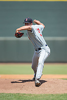 Salem Red Sox starting pitcher Kevin McAvoy (51) in action against the Winston-Salem Dash at BB&T Ballpark on May 31, 2015 in Winston-Salem, North Carolina.  The Red Sox defeated the Dash 6-5.  (Brian Westerholt/Four Seam Images)