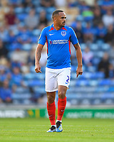 Anton Walkes of Portsmouth during Portsmouth vs Birmingham City, Caraboa Cup Football at Fratton Park on 6th August 2019