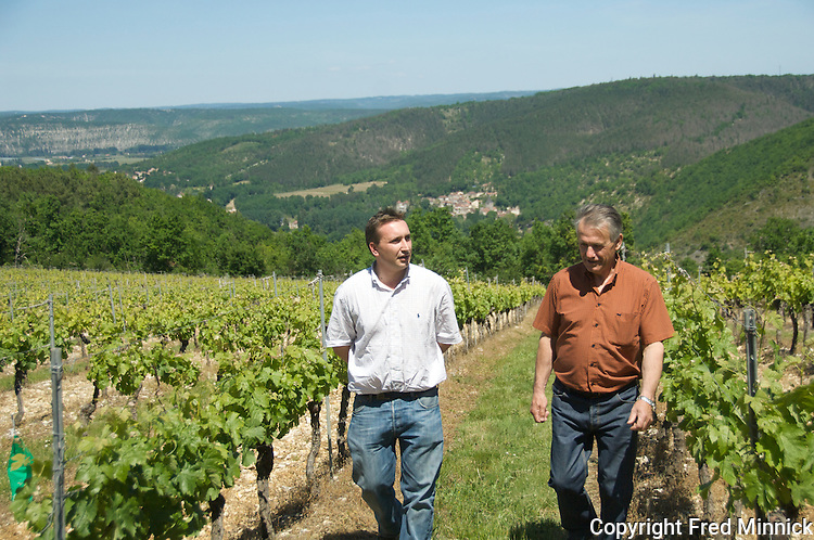 Chateau Vincens produces malbec wine in Cahors, France. Philippe Vincens is a third generation winemaker and grower.