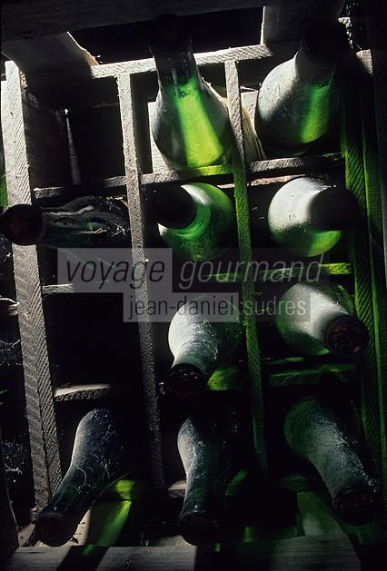 Europe/France/Pays de la Loire/44/Loire-Atlantique/Château Cleray : AOC Muscadet du Sèvre et Maine Sauvion et Fils - Bouteilles
