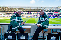Disability Liaison officers <br /> Re: Behind the Scenes Photographs at the Liberty Stadium ahead of and during the Premier League match between Swansea City and Bournemouth at the Liberty Stadium, Swansea, Wales, UK. Saturday 25 November 2017