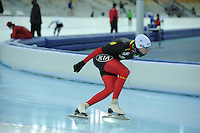 SPEEDSKATING: SOCHI: Adler Arena, 19-03-2013, Training, Bart Swings (BEL), © Martin de Jong