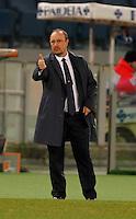 Rafael Benitez durante l'incontro di calcio di Serie A  Lazio Napoli   allo  Stadio Olimpico  di Romai , 2 Dicembre 2013<br /> Foto Ciro De Luca
