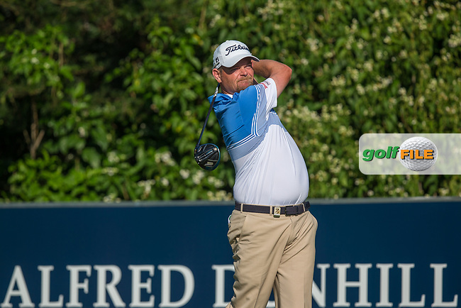 David Drysdale (SCO) during the 1st round of the Alfred Dunhill Championship, Leopard Creek Golf Club, Malelane, South Africa. 13/12/2018<br /> Picture: Golffile | Tyrone Winfield<br /> <br /> <br /> All photo usage must carry mandatory copyright credit (© Golffile | Tyrone Winfield)