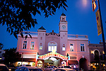 The Sebastiani Theatre was a movie house built in 1933, by August Sebastiani, and faces the Sonoma Plaza, in Sonoma, Ca., on Friday, July 30, 2010.