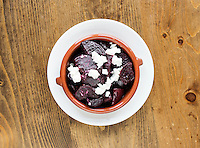 Roasted beets at The Kitchen in Boulder, Colorado, Friday, March 13, 2015. The Kitchen is a &quot;farm-to-table&quot; restaurant serving good food at decent prices. <br /> <br /> Photo by Matt Nager