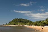 Praia da Concha, Itacare, Bahia State, Brazil.