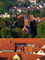 St. Josef, Blick von Marktkirche St. Jacobi, Einbeck, Niedersachsen, Deutschland, Europa<br /> St. Josef seen from Marketchurch St. Jacobi, Einbeck, Lower Saxony, Germany, Europe