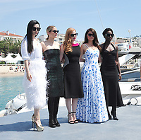 Jessica Chastain, Marion Cotillard, Penelope Cruz, Fan Bingbing &amp; Lupita Nyong&rsquo;o promoting their upcoming spy thriller &quot;355&quot; at the 71st Festival de Cannes, Cannes, France 10 May 2018<br /> Picture: Paul Smith/Featureflash/SilverHub 0208 004 5359 sales@silverhubmedia.com