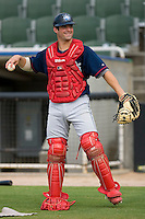 Ryan Gugel #31 of the Lakewood BlueClaws at Fieldcrest Cannon Stadium July 10, 2009 in Kannapolis, North Carolina. (Photo by Brian Westerholt / Four Seam Images)