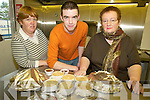 GRUBS UP: Serving up the dinners at the Listry Community Centre meals on wheels service on Friday were l-r: Brenda Courtney, Stephen Tangney and Joan Curran.   Copyright Kerry's Eye 2008