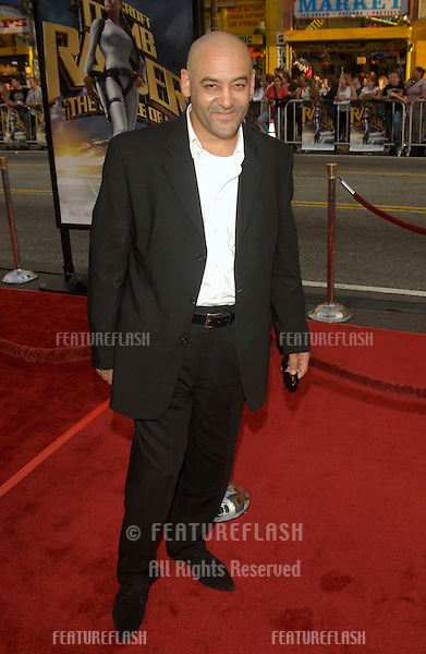 Actor ROBERT ATIKO at the world premiere of his new movie Lara Croft Tomb Raider: The Cradle of Life, at Grauman's Chinese Theatre, Hollywood..July 21, 2003