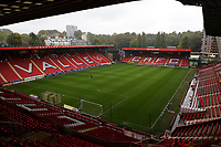 General view of the East Stand and Jimmy Seed (South) Stand at Charlton FC during Charlton Athletic vs Coventry City, Sky Bet EFL League 1 Football at The Valley on 6th October 2018